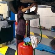 Vidange effectuee par un membre - Self Garage