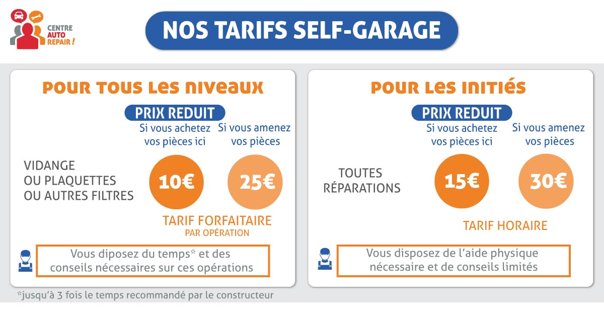 Self-garage pas cher