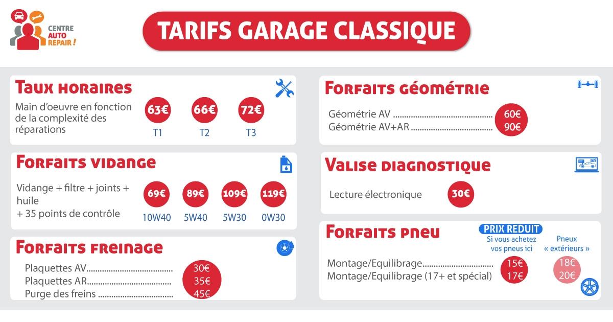 Tarifs-garage-classique